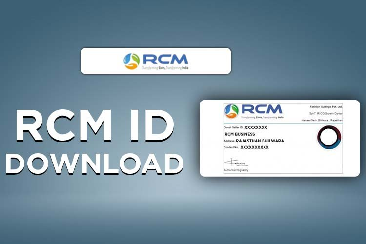 Rcm Id card - rcm identity card , rcm id card benefits, download
