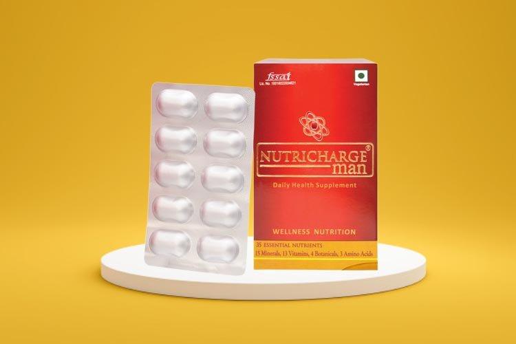 Nutrichage Man | Nutricharge Men Benefits & Side effects