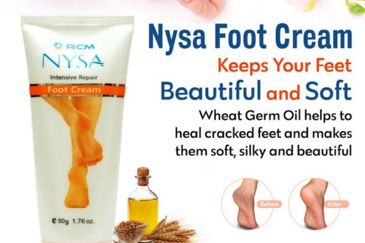 Benefit of rcm nysa foot cream