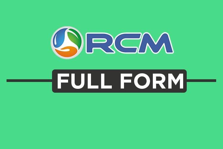 rcm full form - right concept marketing