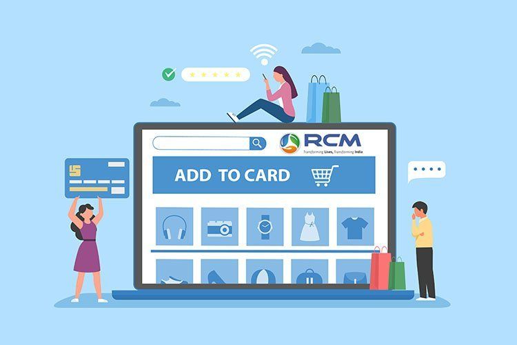 Online shopping in rcm business | order online in rcm business