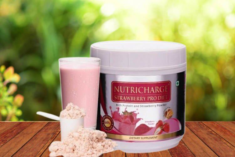 Nutricharge Strawberry Prodiet - benefits, ingredients, price