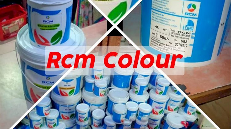 RCM Tulsi colour new product