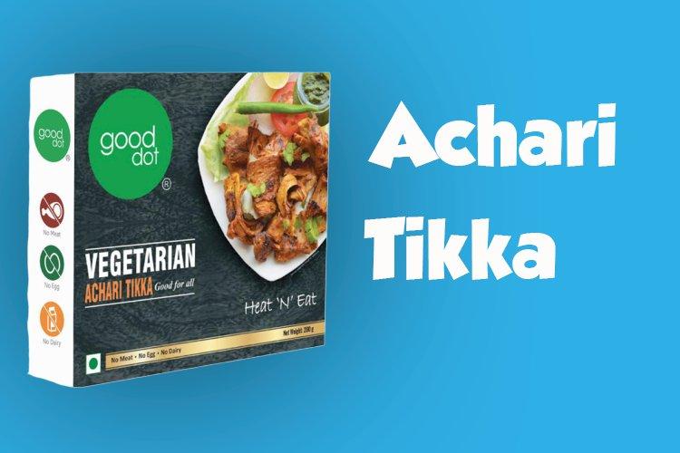 Benefits of good dot achari tikka