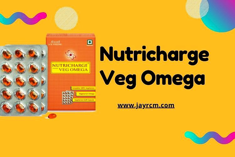 Nutricharge Veg Omega 3 - Nutricharge Products, Rcm Business Products,